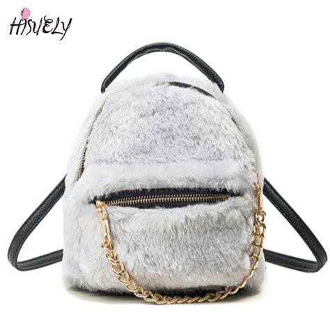 Fashion Rabbit Backpack n 186 2017 new fashion winter ᗖ soft soft rabbit fur fur backpack zipper school bags