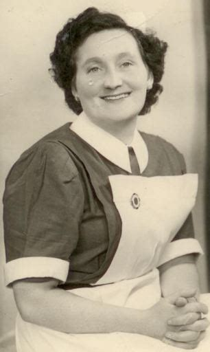 Ita devanney mother of zita west was a midwife in the forties and