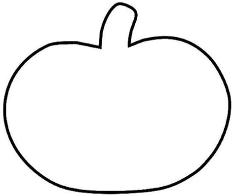 printable pumpkin template the world s catalog of ideas