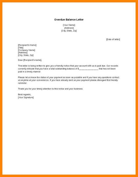 Outstanding Payment Reminder Letter Format 5 friendly payment reminder letter sles actor resumed