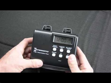 landscape lighting timers intermatic hb880r landscape lighting timer tutorial