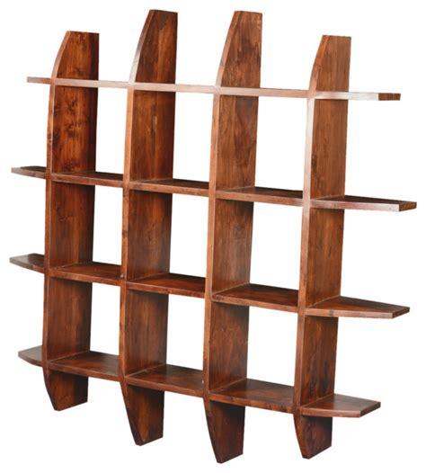 modern photo display modern rustic acacia wood 59 quot sq shadow box display wall
