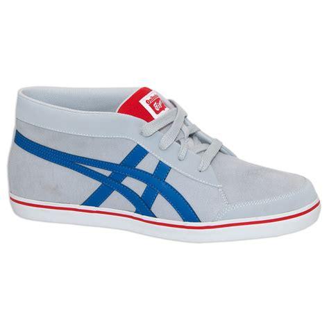 onitsuka tiger light blue onitsuka tiger renshi sneakers light grey blue