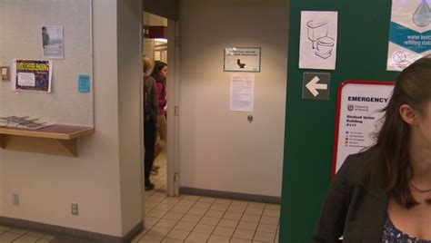 co ed bathroom uvic tries to flush out discrimination ctv news