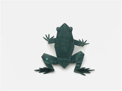 Origami Western Diagram - frog origami diagram 171 embroidery origami