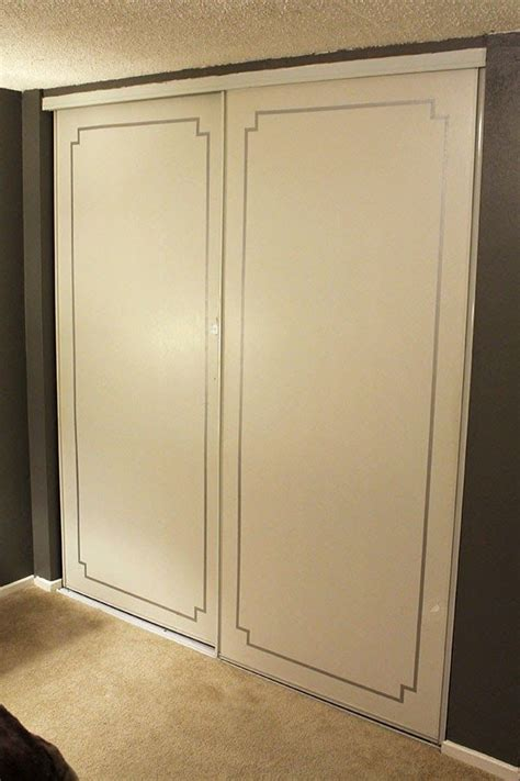 Fancy Closet Doors Tiny Apartment Fancy Closet Doors With Washi Do It Yourself Projects