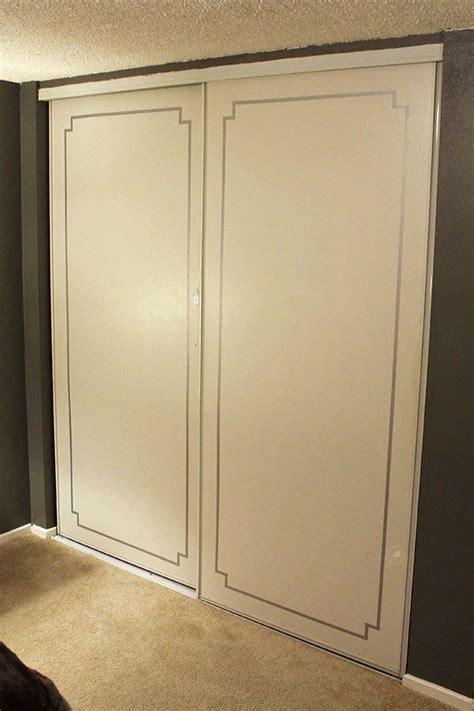 Tiny Ass Apartment Fancy Pants Closet Doors With Washi Do It Yourself Closet Doors