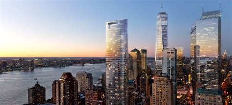 New York New York by The New Downtown New York Rises Again World Property