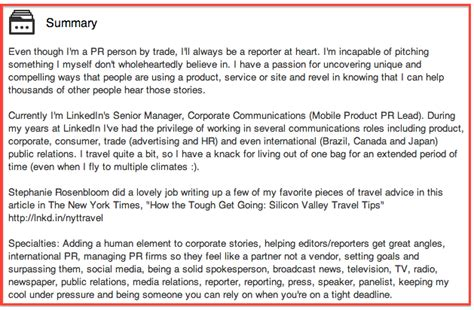 How Many Jobs Should Be On A Resume by How To Write A Professional Social Media Bio