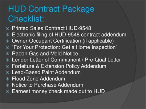 Hud Commitment Letter successfully selling hud homes