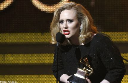 adele early photos adele wins three early grammys foo fighters five