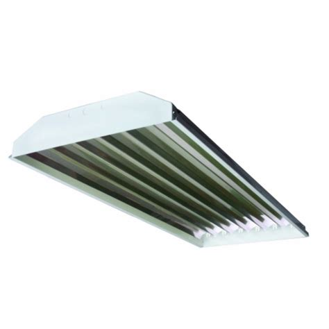 T5 Low Bay Light Fixtures 12 T5 6 L High Low Bay Lights For Metal Building Machine Shed Ebay
