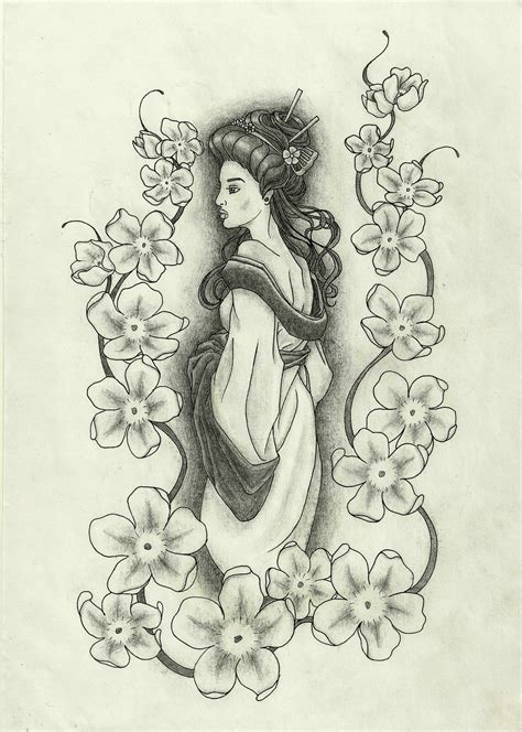 geisha tattoo designs geisha tattoos designs ideas and meaning tattoos for you