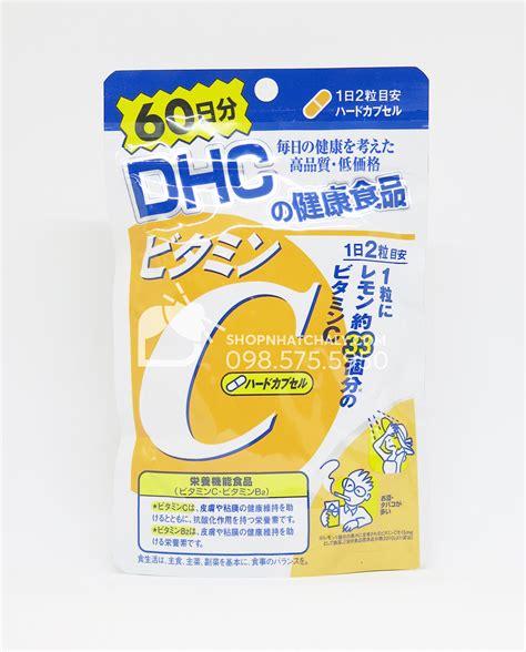 Dhc Vitamin C vi 234 n uống vitamin c dhc của nhật 120 vi 234 n date mới nhất