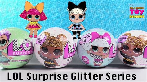 Egg Dolls Lol Anniversary Edition Glitter Serie glitter series lol doll 1 2 wave palooza
