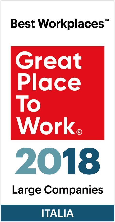 best place to work best workplaces italia large companies great place to
