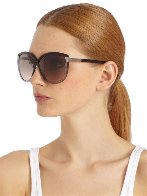 The Sunglasses Of 2007 Tom Ford by Lyst Tom Ford Oversized Crossover Sunglasses In