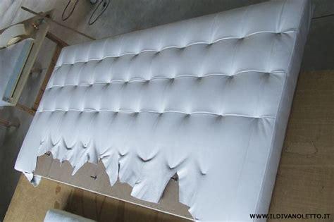 testata letto pelle foto realizzazione testata letto in pelle di auguadro