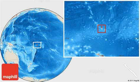 where is tokelau on the world map shaded relief location map of tokelau
