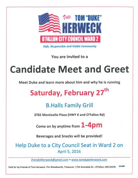 meet and greet flyer tri county labor club