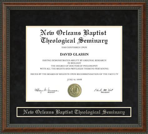 new orleans baptist theological seminary nobts diploma