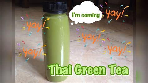 cara membuat thai tea number one cara membuat thai green tea mudah simple dan enak