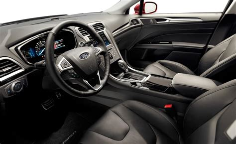 2013 ford fusion titanium interior car and driver