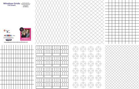 templates  misc dollhouse miniature madness  tutorials