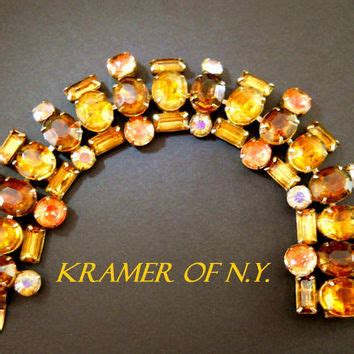 rhines of kramer of ny best kramer rhinestone bracelet products on wanelo