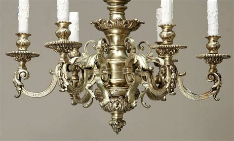 bronze chandelier chain cast bronze baroque chandelier with chain and canopy for