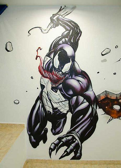 berok graffiti mural profesional en barcelona marvel