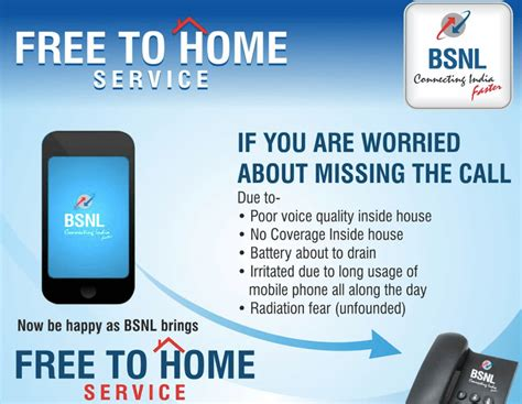 bsnl launches free to home call forwarding from mobile