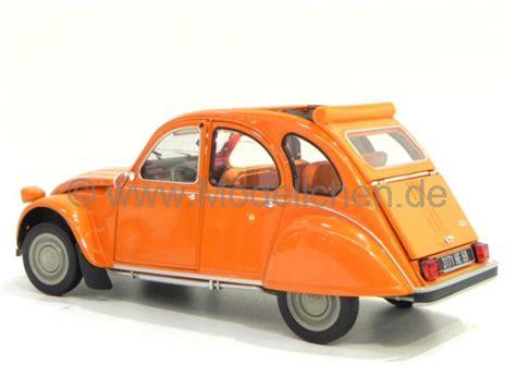 Ente Das Auto by Citroen 2cv 6 Ente Orange 1975 Modellauto 181514 Norev 1 18
