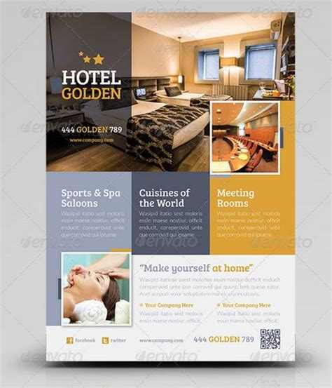 Hotel Flyer Templates Free Hotel Flyer Design Ideas Yourweek 2d2361eca25e