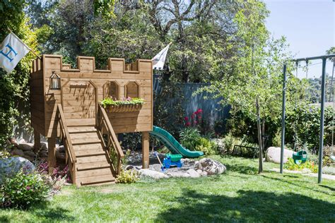 backyard castle building our backyard castle with wood naturally emily