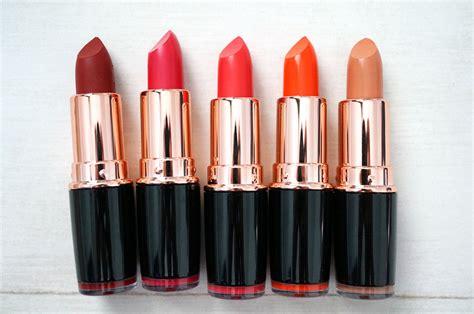 Makeup Revolution Iconic Pro We Were new makeup revolution iconic pro lipsticks thou shalt