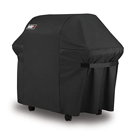 Which Is Best Vinyl Or Polyester For Grill Covers - weber 7107 grill cover with storage bag for genesis gas