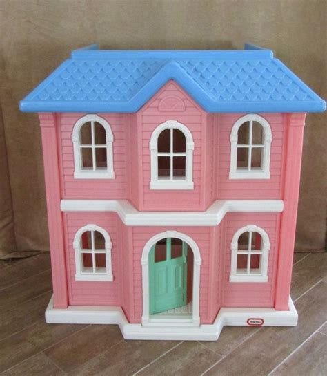 Little Tikes Pink Dollhouse Victorian My Size 3 Feet Tall Barbie Doll House Barbie Doll House