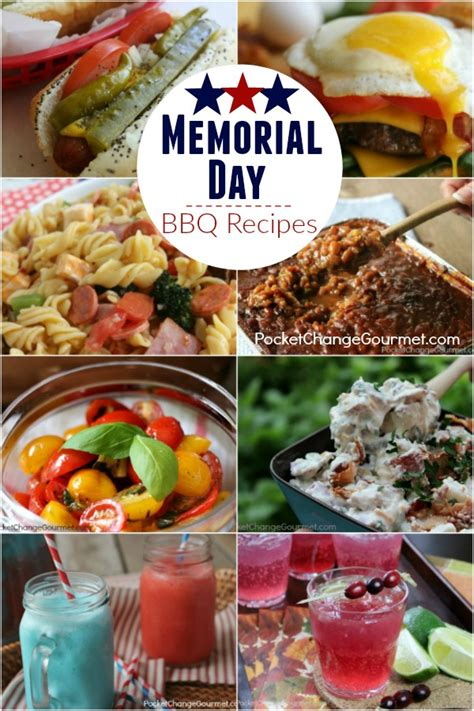 Cpwm Memorial Day Bbq Appetizer Menu by Memorial Day Bbq Recipes Recipe Pocket Change Gourmet