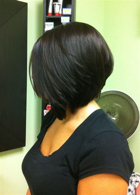 angled bob hair style fors black women side view of black angled bob haircut hairstyles weekly