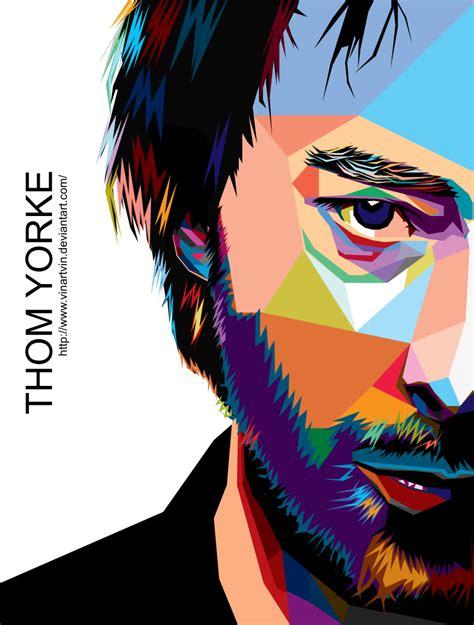 Thom Yorke Radiohead In Wpap thom in wpap by vinartvin on deviantart