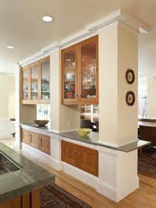 Divider Between Kitchen And Living Room by Kitchen Divider Cabinets