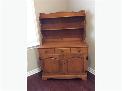 Roxton Dining Room Hutch Roxton Solid Maple Buffet And Hutch Nepean Ottawa