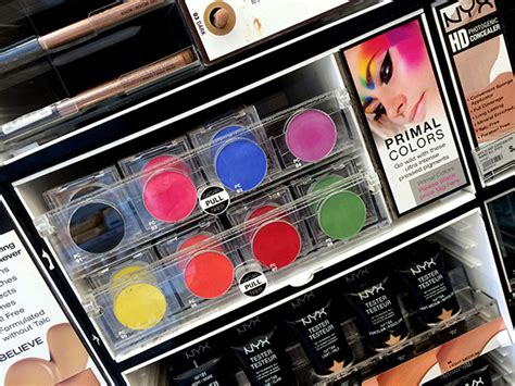 Nyx Primal Color Pressed Pigments Fuschia Pc04 getting my vitamin w at ulta today where i peeped some pixel cosmetics nyx physicians formula
