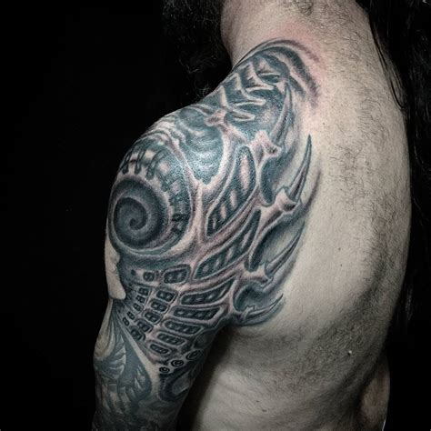 tattoo design biomechanical best biomechanical tattoos related keywords best