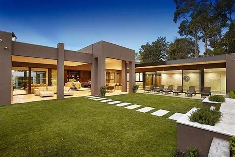 one level houses luxury single level house in australia adorable home