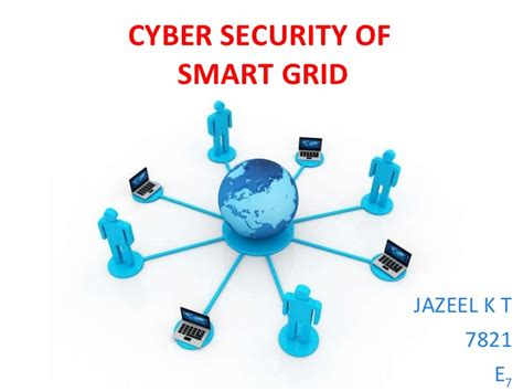 Smart Grid Cyber Security Cyber Security Presentation Free