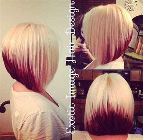 angled bob colored hair 40 best bob hair color ideas bob hairstyles 2017 short