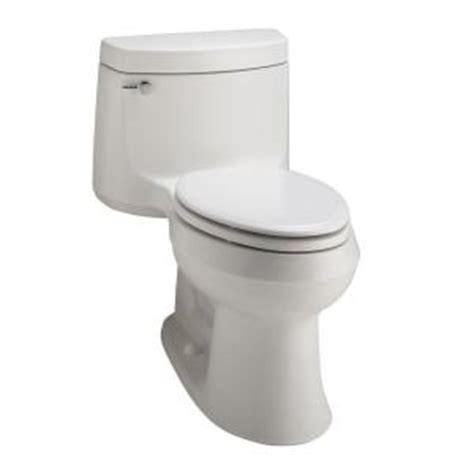 kohler cimarron elongated comfort height toilet kohler cimarron comfort height 1 piece 1 6 gpf elongated