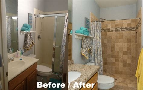 bathrooms before and after before and after bathroom photos sibbach design services